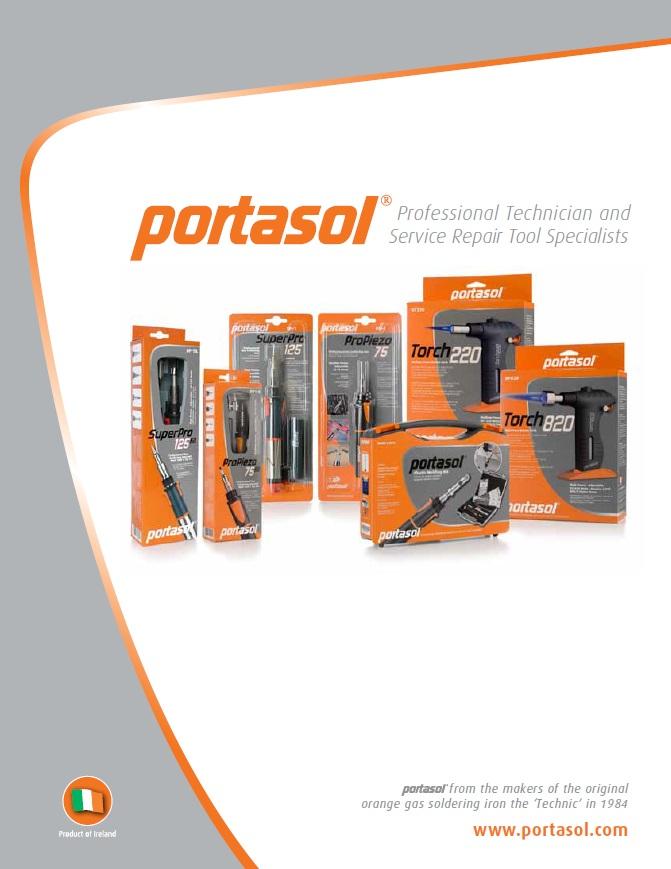 Portasol Gas Irons