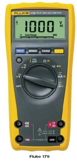 FLUKE Fluke 170 Specifications