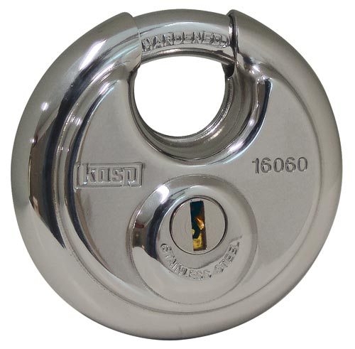 KASP Disc Padlock 160 series
